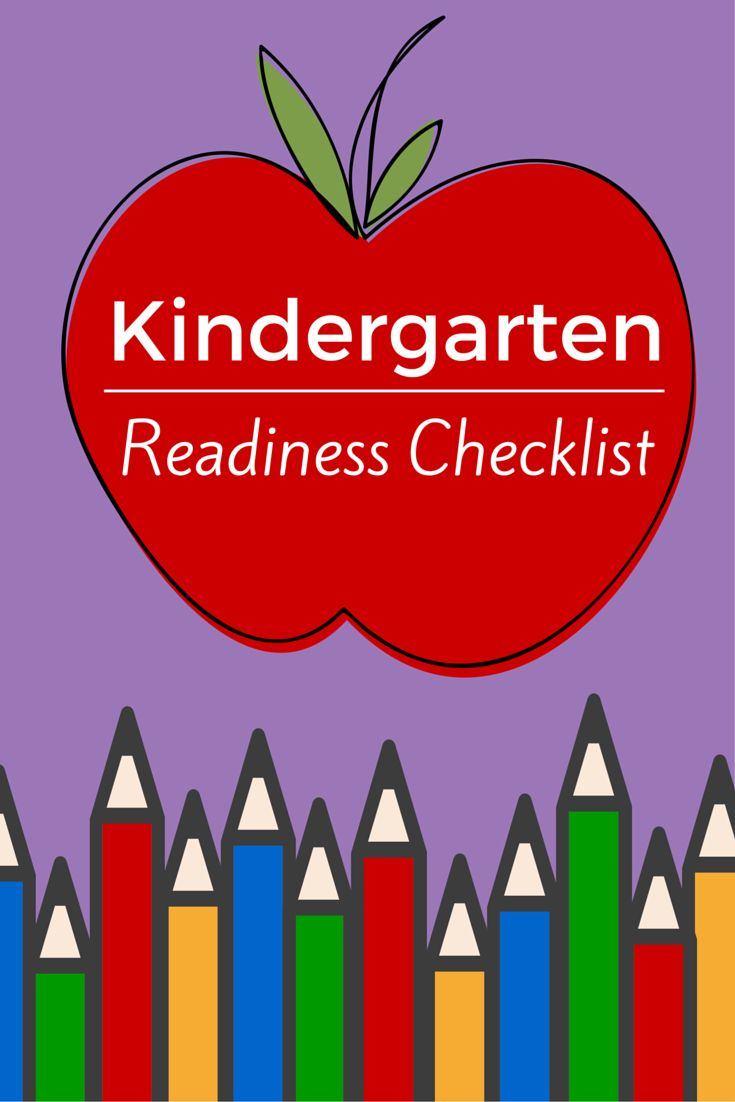 Is your child ready for kindergarten? Follow this checklist with activity suggestions!