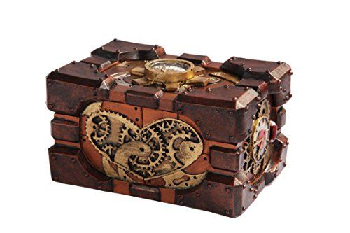 See our new post (Steampunk Robotic Heart Pressure Gauge Mechanical Trinket Jewelry Box Figurine) which has been published on (Explore the World of Steampunk) Post Link (http://steampunkvapemod.com/product/steampunk-robotic-heart-pressure-gauge-mechanical-trinket-jewelry-box-figurine/)  Please Like Us and follow us on Facebook @ https://www.facebook.com/steampunkcostume/