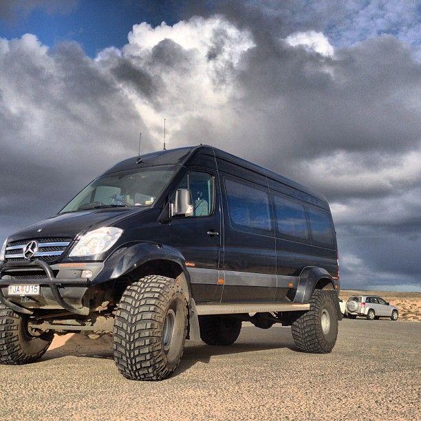 """Mercedes Benz Sprinter 46"""" In Iceland"""