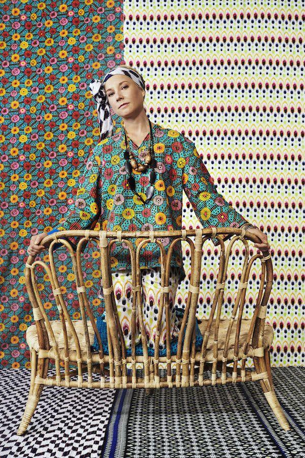 Bank uit de Jassa collectie Ikea met Piet Hein Eek #ikea #rotan #bamboe #katoen #keur #interieur