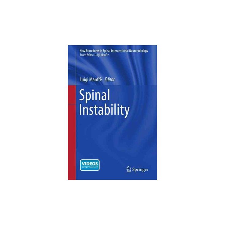 Spinal Instability ( New Procedures in Spinal Interventional Neuroradiology) (Paperback)
