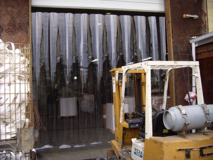 Strip Curtains Streifenvorhnge Khlzellen Tiefkhlzellen