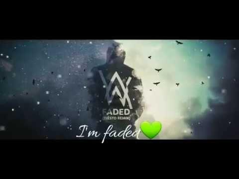 Alan Walker   Faded Lyrics Video For WhatsApp Status videos