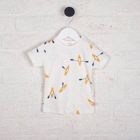 Tinycottons T-shirt w kajaki