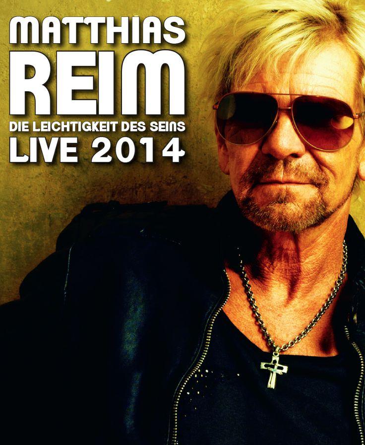 Matthias Reim - LIVE 2014 - Tickets unter: www.semmel.de