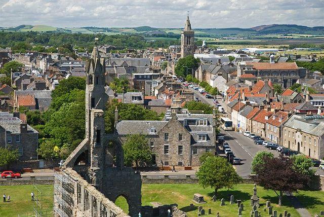 St Andrews - Scotland by Roy McGrail (krm gib), via Flickr