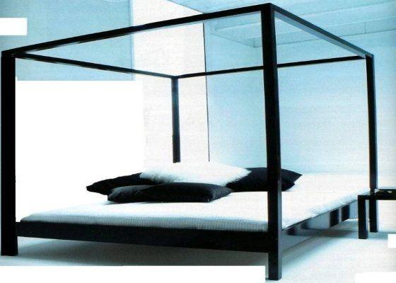 Stalen bed The Cube (prijzen en info) - Moderne ledikanten - BEDDEN in voorraad - Bedden : Metalen bedden en ijzeren ledikanten