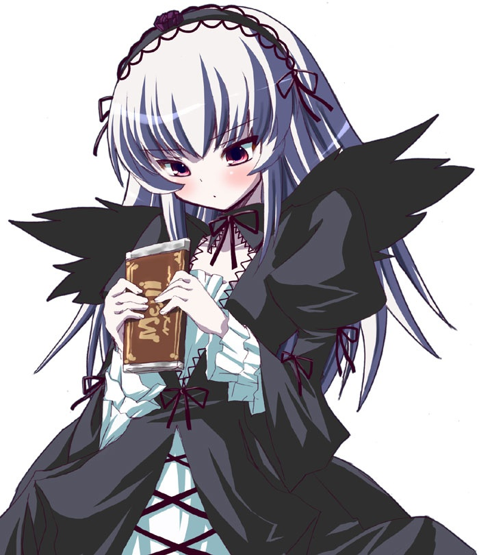 Suigintou- Rozen maiden- i think i might dress as her for party