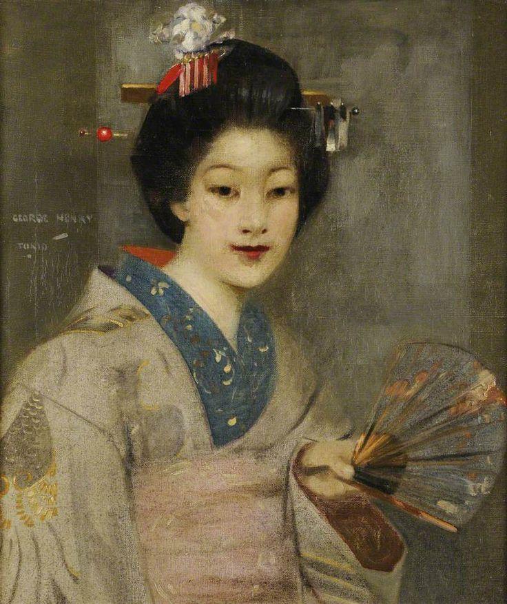 The Geisha Girl by George Henry (Scottish 1858–1943)