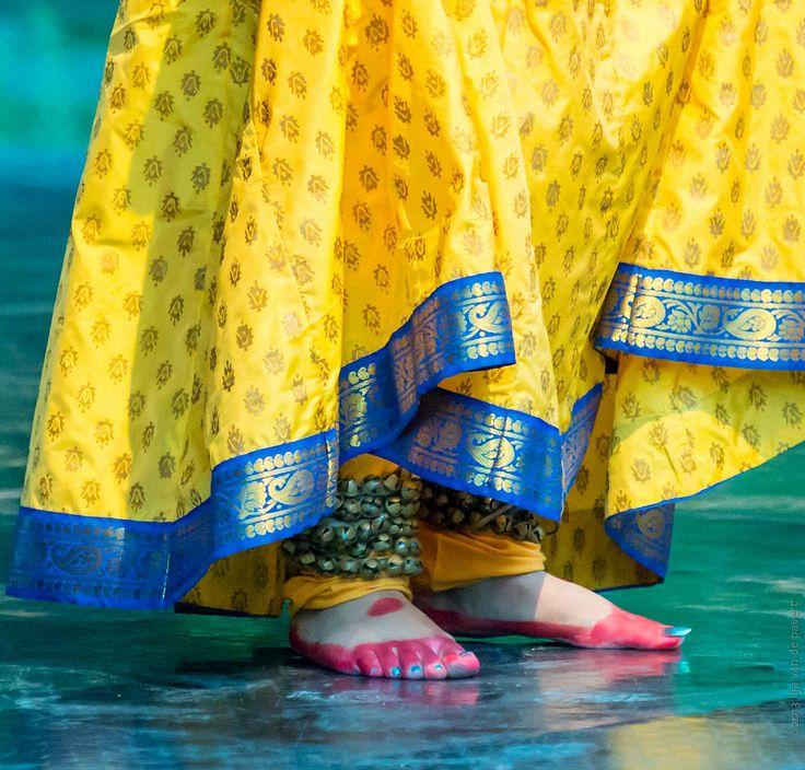 Beautiful Ghungroos Feet