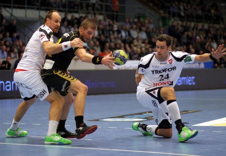 24.02.2013: Niederlage in der EHF Cup-Gruppenphase gegen KIF Kolding. #Handball
