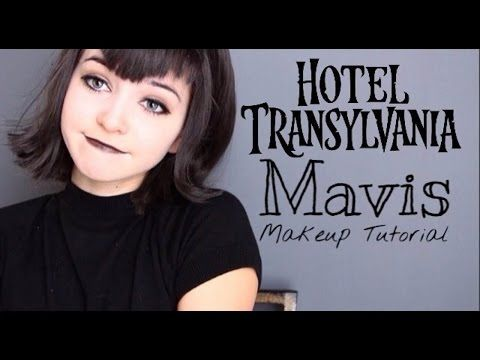 Hotel Transylvania- Mavis Makeup Tutorial - YouTube