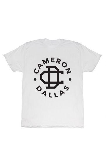 Cameron Dallas Cameron Dallas Logo T-Shirt - BLV Brands