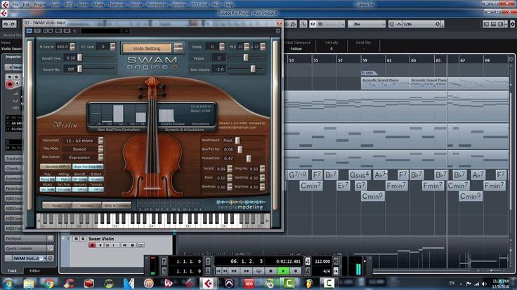 Samplemodeling Swam Violin + leap motion + TEC breath controller (www.sa...