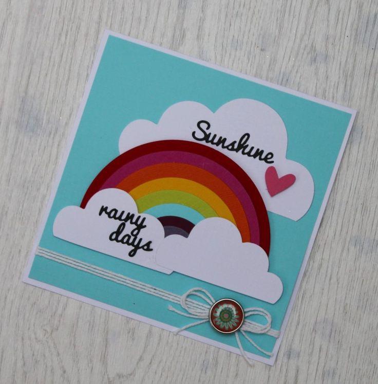 Cloudy Days and Rainbow Card