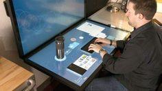 Ideum's Dynamic Desktop Comprises Projected Capacitive Touch Tables [Futuristic Computers: http://futuristicnews.com/tag/future-computer/]