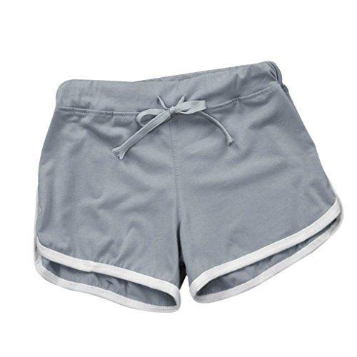 62d2338697730 Xinan Shorts Femme Femme Pantalon short Réglable Sport Été Casual Élevée  Sexy Hot Gym Shorts Sport femmes Gym ceinture shorts Skinny Shorts de Yoga  ...
