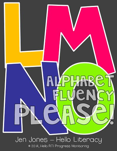 Alphabet Fluency: Where It Fits into the Fluency Continuum & Why Alphabet Fluency is Essential