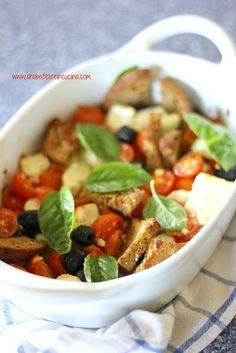 Feta al forno con pomodori e olive | Arabafelice in cucina! | Bloglovin'