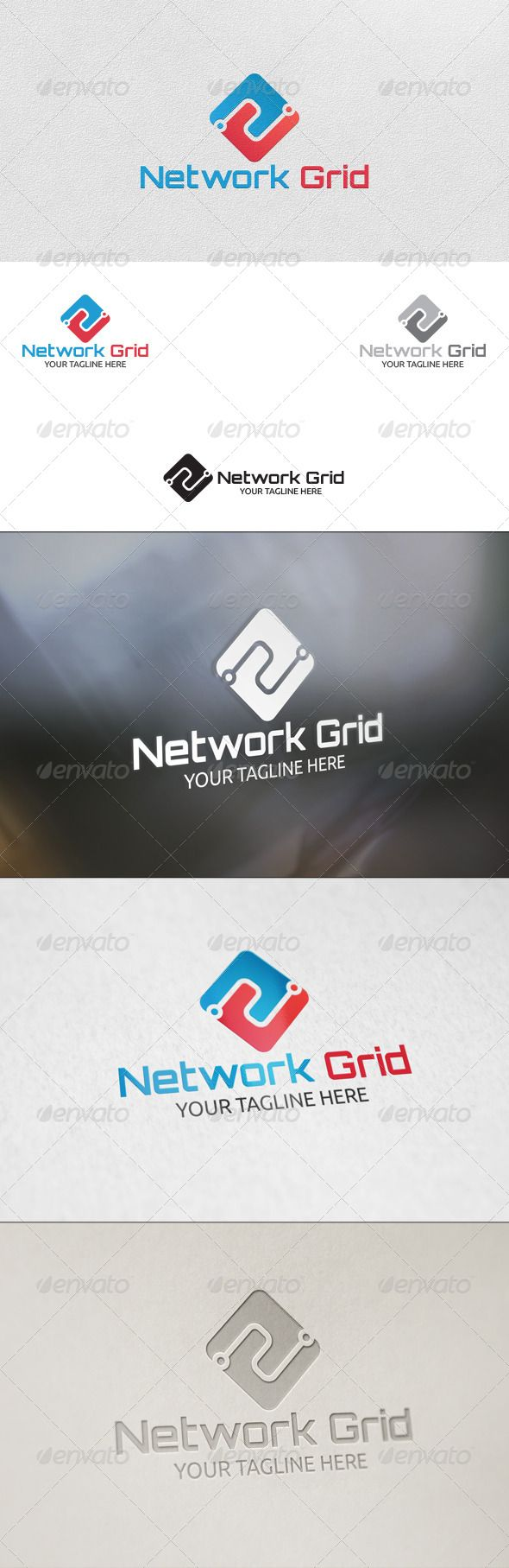 Network Grid  - Logo Design Template Vector #logotype Download it here: http://graphicriver.net/item/network-grid-logo-template/5798159?s_rank=1494?ref=nesto