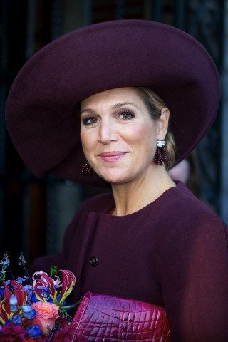 Queen Máxima, October 13, 2015 in Fabienne Delvigne | Royal Hats