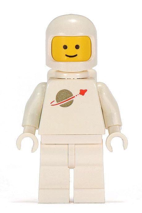 Lego White Classic Spaceman