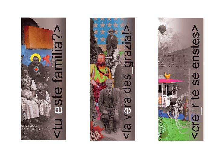Claus Soraperra de la Zoch: Pascalin_Project (Works and Banners)