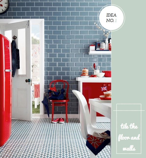 Bright.Bazaar: Five Creative Ways To Decorate With Topps Tiles