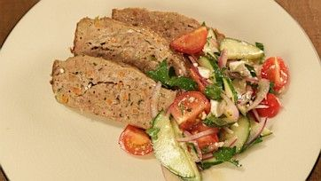 Greek Meatloaf Recipe by Carla Hall - The Chew