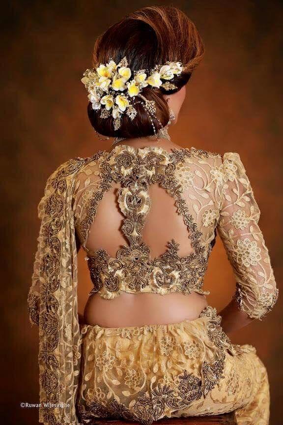 Sri Lankan fashion by Chami Habarakada Salon