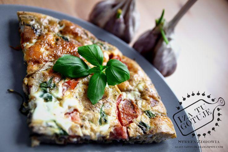 Iza Gotuje blog kulinarny o gotowaniu: Leniwa Frittata