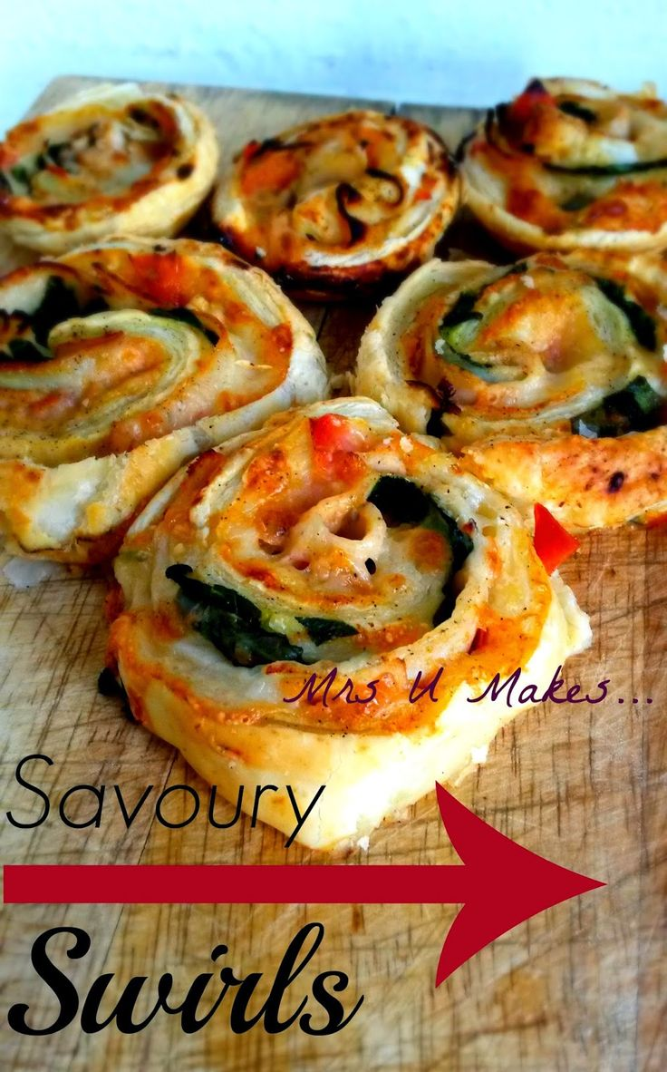 Mrs U Makes...: Savoury Swirls @MrsUMakes #mymrsumakes