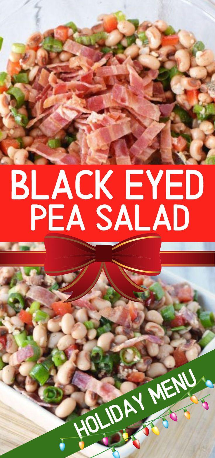 black eyed pea salad southern caviar mingles together