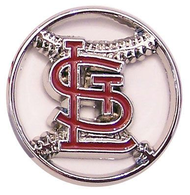 St. Louis Cardinals Cut Out Logo Pin