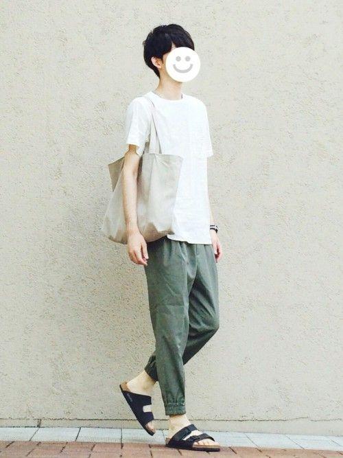 URBAN RESEARCH DOORS MENSのシャツ・ブラウス「DOORS ストレッチリネン布帛Tee」を使ったkitsuneのコーディネートです。WEARはモデル・俳優・ショップスタッフなどの着こなしをチェックできるファッションコーディネートサイトです。