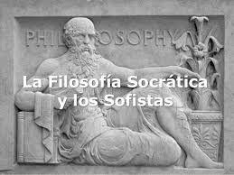 La filosofía socrática tiene por objeto el estudio del hombre y su mundo, es decir, la comunidad en la que vive. Su investigación pretede poner a cada hombre individual en claro consigo mismo, y pretende hacer justo, es decir, solidario con los demás.