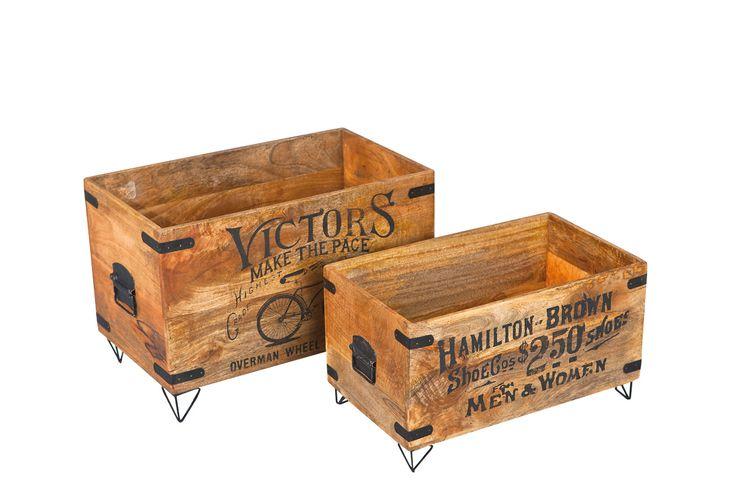 Vente VINTAGE CASUAL / 20986 / Séjour / Bahuts et buffets / 2 boites Stock - Naturel