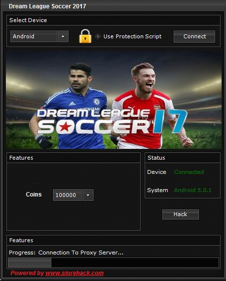 Hy everyone , today we present to you a new original and awesome hack : Dream League Soccer 2017 Hack for Android and iOS.