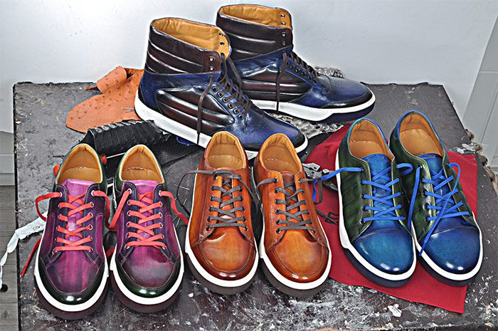 Feel Comfortable and Elegant This Summer with a Pair of Handmade Sneakers