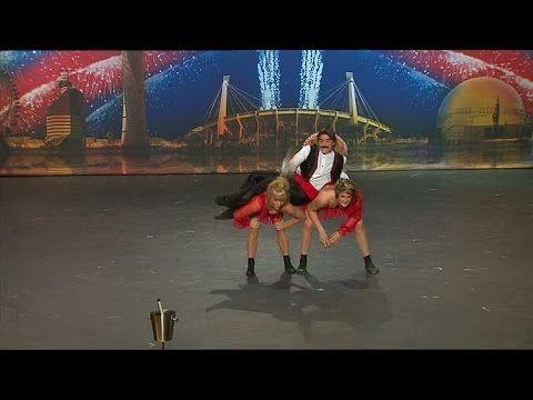 Niklas, Anette och Sara dansar dubbelbugg - Talang (TV4) - YouTube