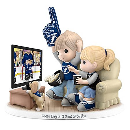 Precious Moments Every Day Is A Goal With You Lightning® Figurine