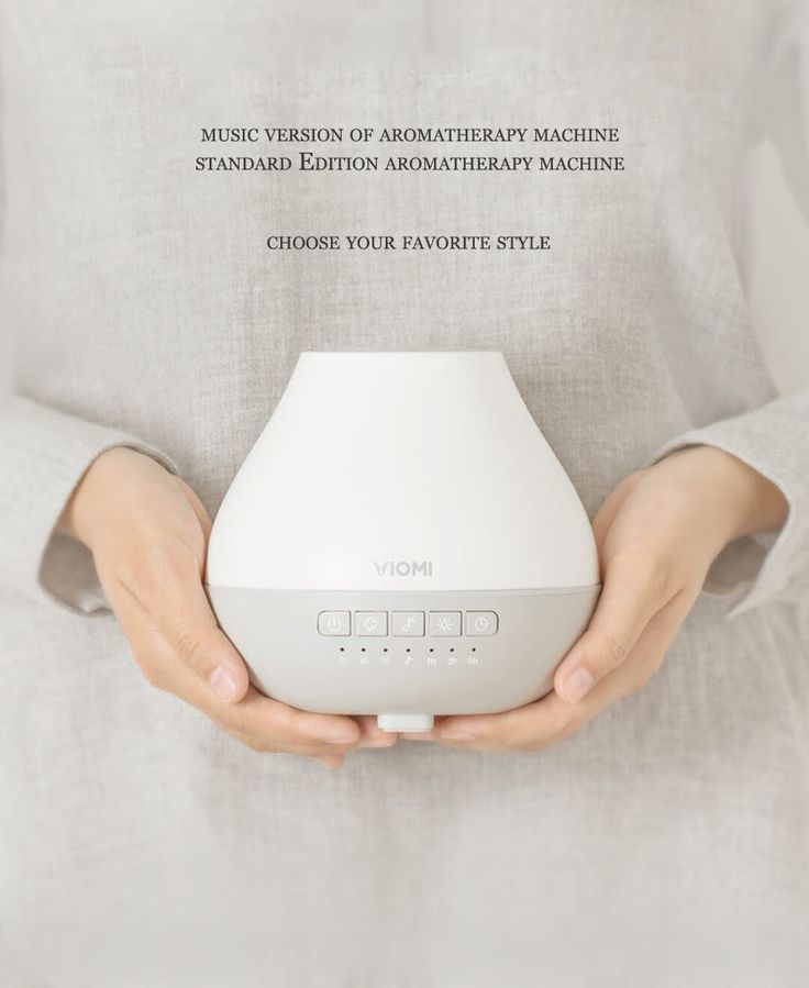 Original Xiaomi 200ml Smart Music Ultrasonic Humidifier Aromatherapy Essential Oli Aroma Diffuser