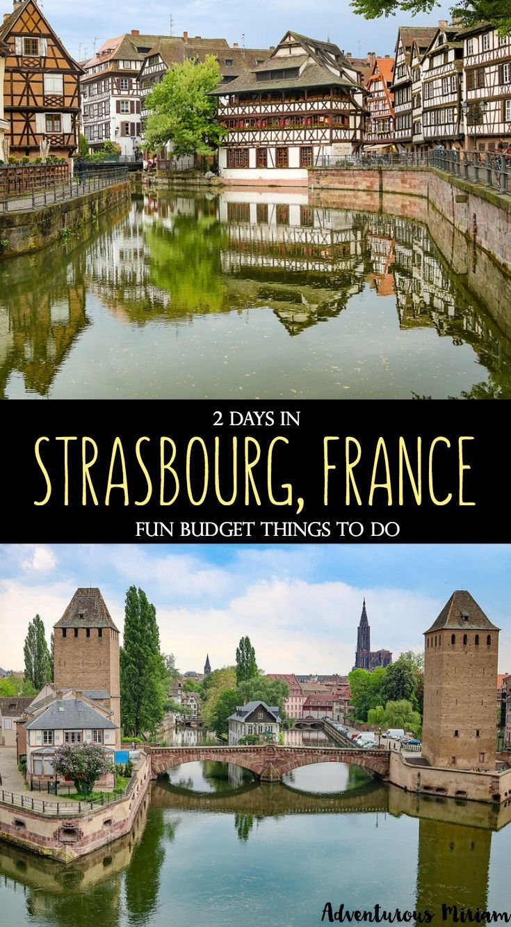 "The number one attraction in Strasbourg is Petite France (""Little France""), which is the historic part of town. What makes it special is the half-timbered houses that reflect in the water along the canal. Notre Dame cathedral and the Alsace food and wine is also big draws for the city! Here's a list of great things to do in Strasbourg, France."