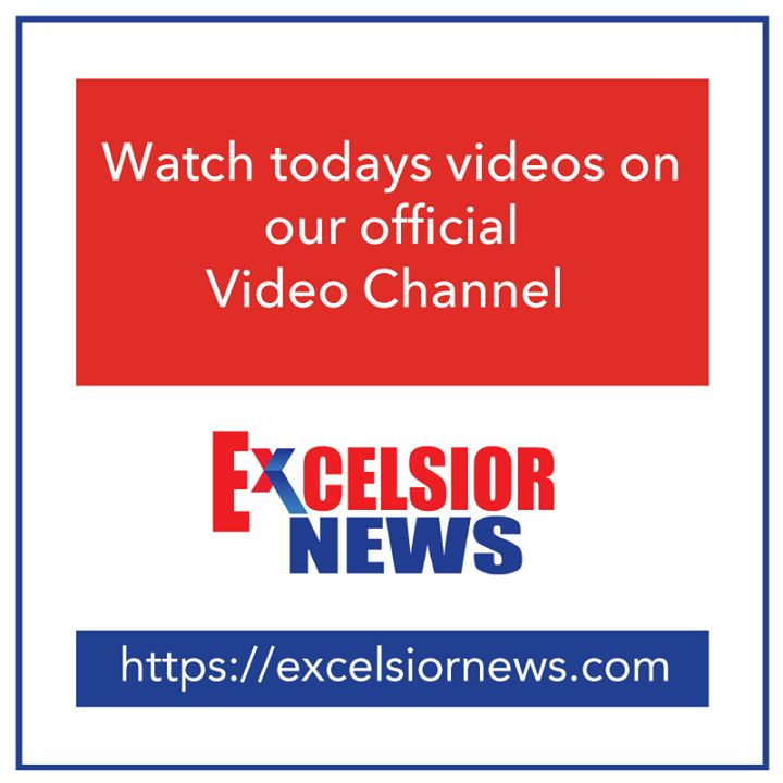 Today's latest video:-  Excelsior News reports on Peer Mitha Dargah in Jammu http://ift.tt/2fI0tDH  Congress workers take out candle light march in Vijaypur http://ift.tt/2g6GRtA  Six Naxals killed in encounter in Jharkhands Latehar http://ift.tt/2gDdLFE  CM meets with Lt Gen Surinder Singh Western Command at Jammu http://ift.tt/2g6OQqG  The team of engineers carrying repair work on Srinagar-Banihal Railway track on Thursday http://ift.tt/2fUPqtH  Union Minister Dr.  Jitendra Singh addresses…