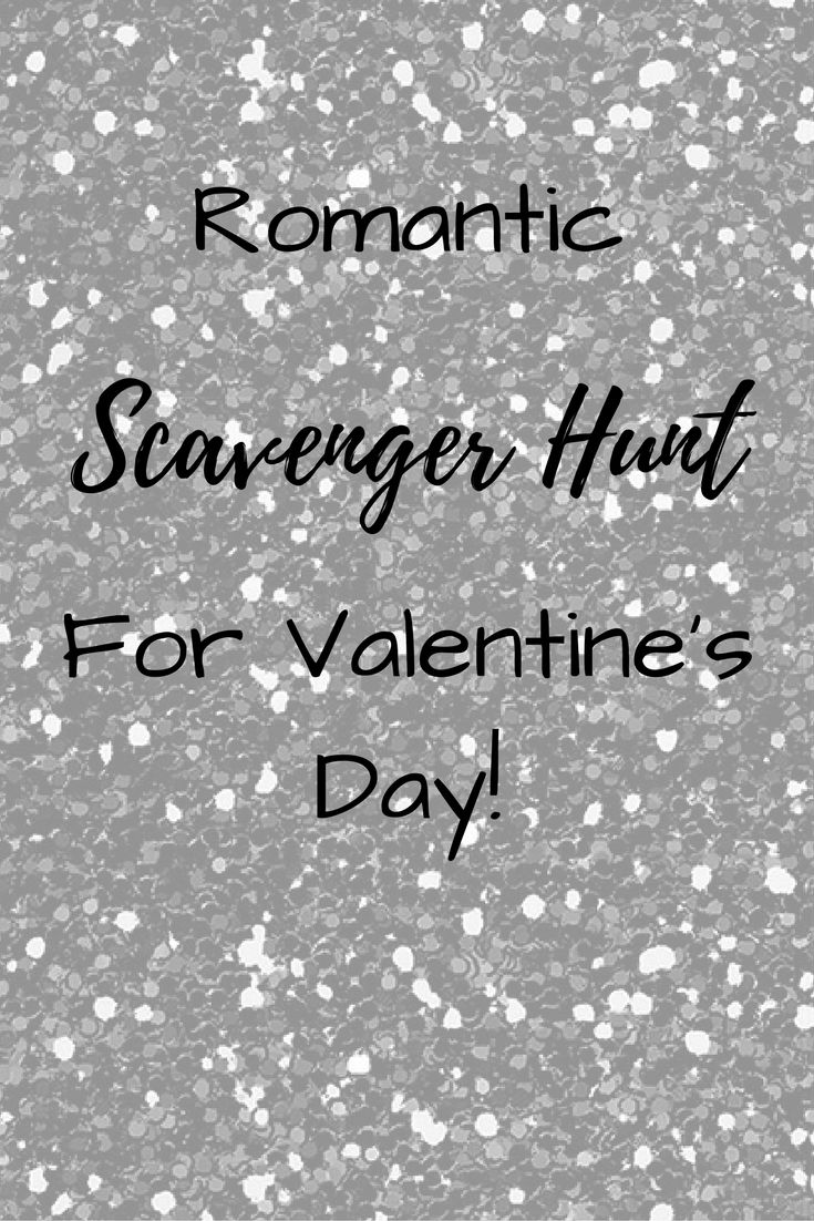 Need something fun and exciting to do this Valentine's Day? Try this romantic scavenger hunt! Free printable clues included!