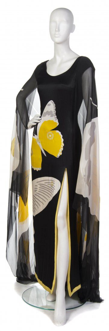 Hanae Mori, (Japanese, b. 1926), Evening Gown We love Hanae Mori, and have many pieces in our collection.