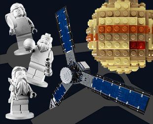 LEGO minifigures on NASA's Juno Jupiter probe inspire design challenge | collectSPACE