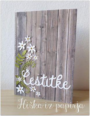 Hiška iz papirja: Ko me inspirira ... cvetlični aranžma