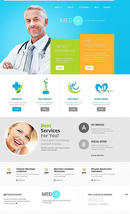 39 best images about Web Design - MEDICINE | Веб дизайн - Медицина ...