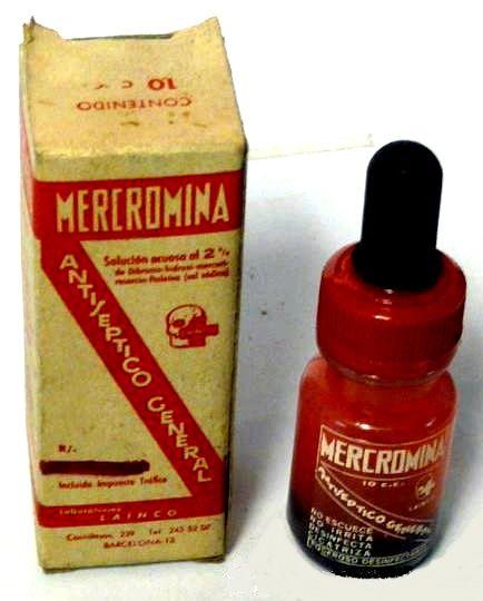 mercromina, la inventora era de Fonz                              …